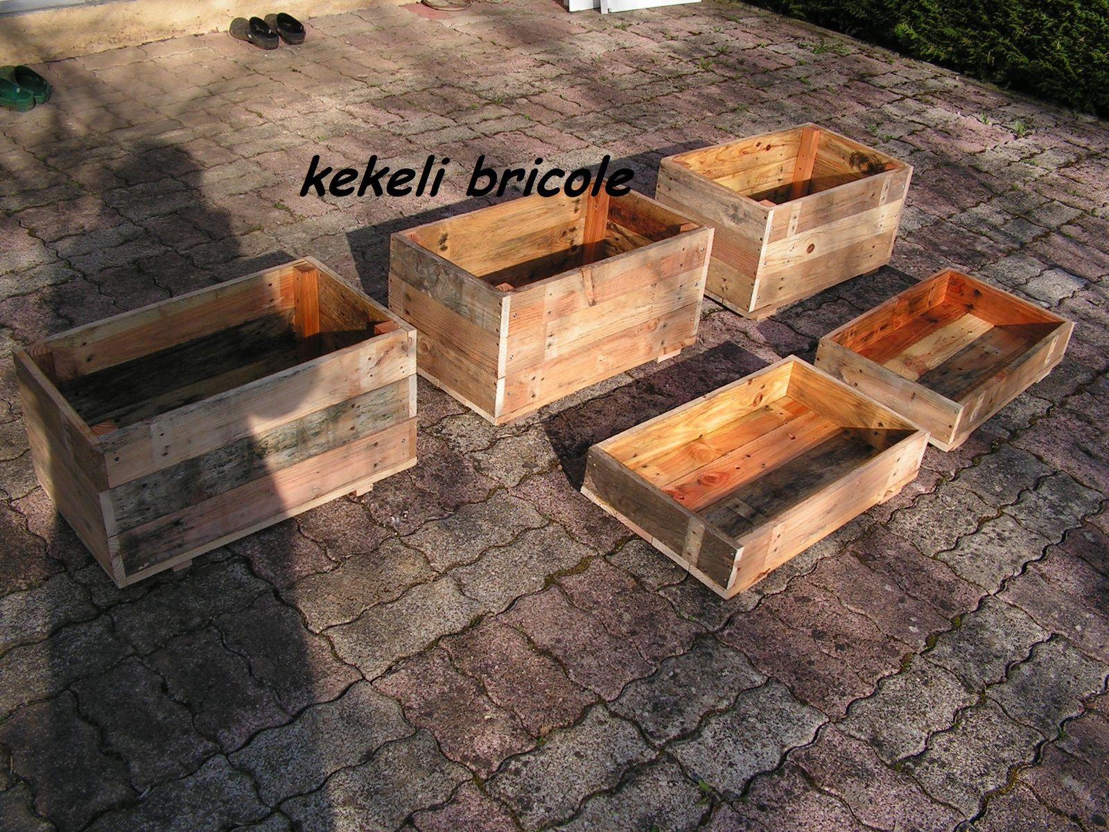 Planter Dans Une Caisse En Bois caisse en bois - kekeli bricole