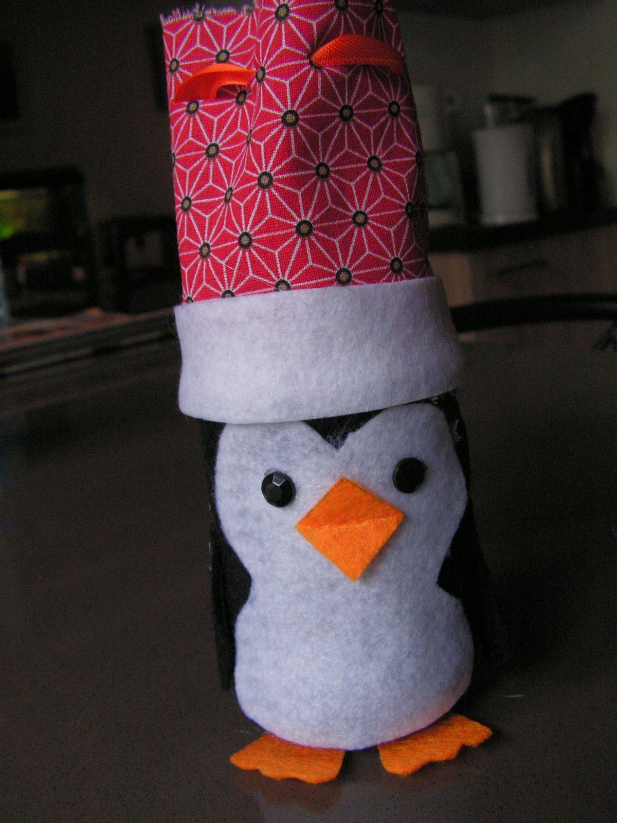 Petits pingouins de Noël