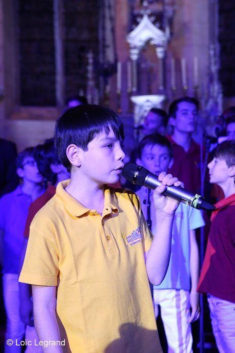 Un excellent moment avec les Petits Chanteurs d'Asnières