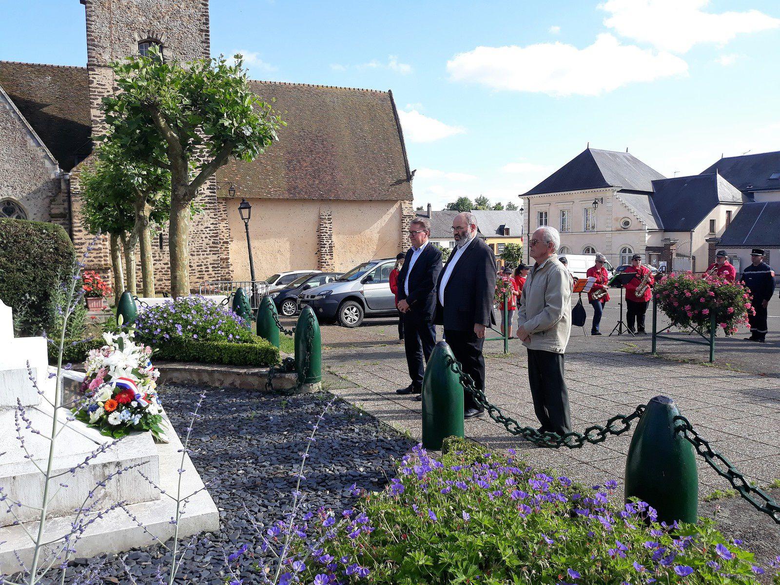 Cérémonie commémorative de l'Appel du Général de Gaulle