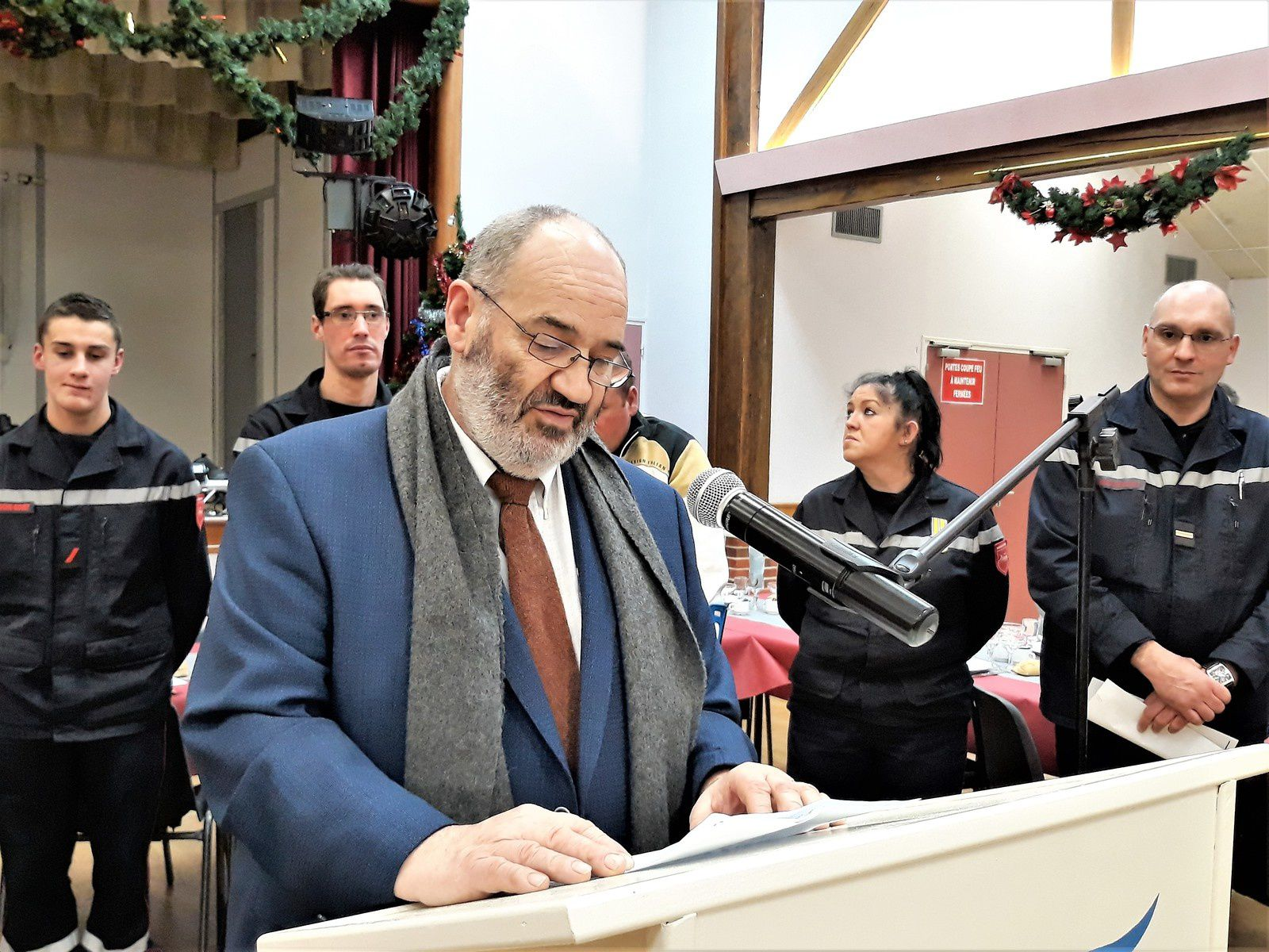 Discours de Monsieur le maire
