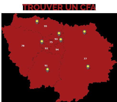 OUVERTURE DU SITE DES 7 CFA D'ILE DE FRANCE