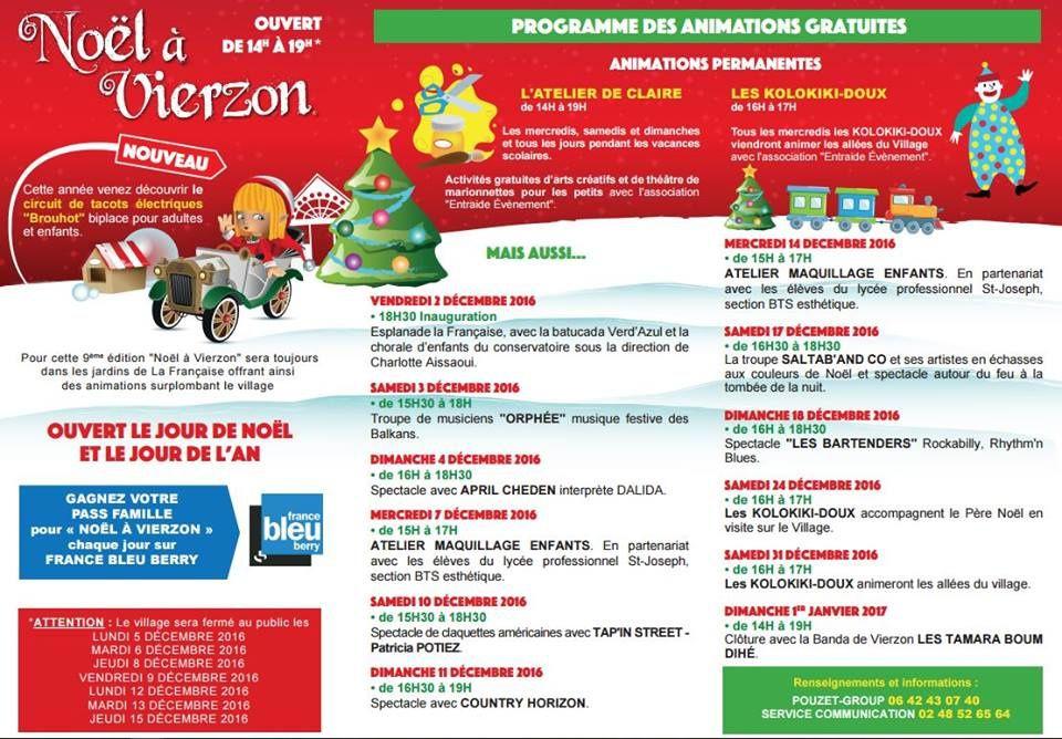 Le Noël à Vierzon revient encore cette année