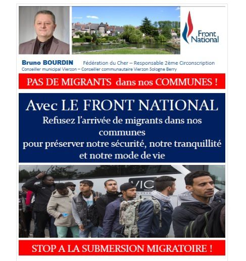 Voici ce que le Front national compte diffuser à 5.000 exemplaires