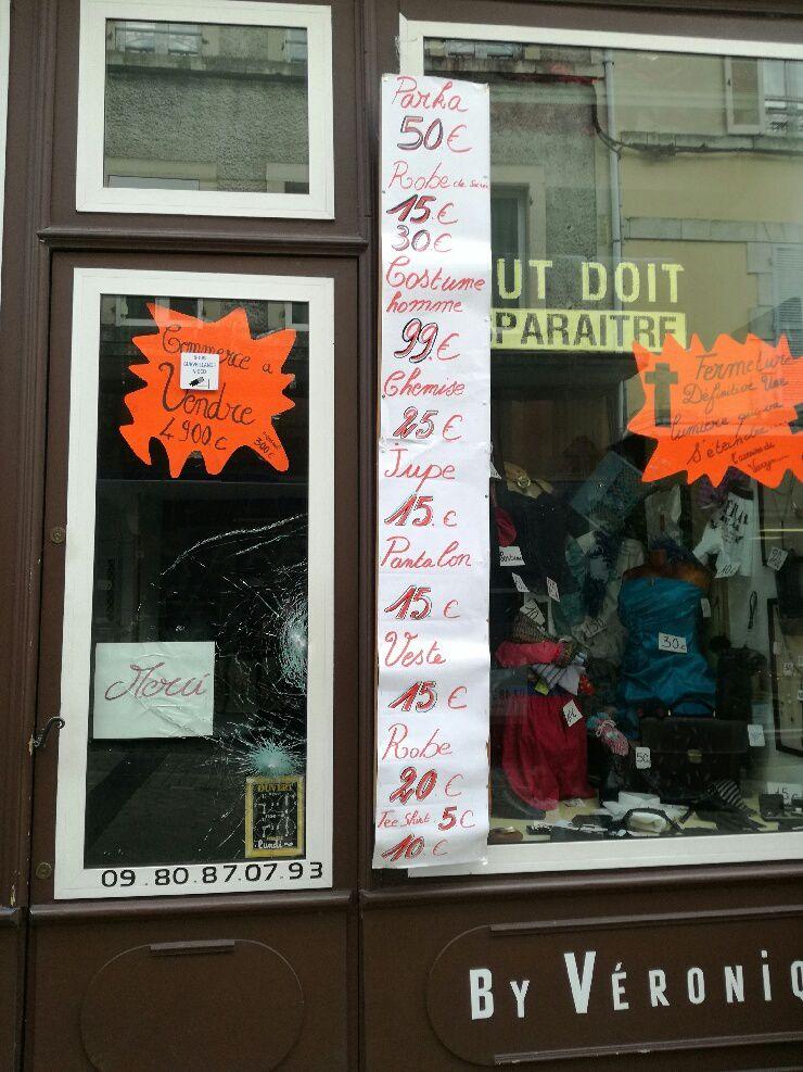 Dernier jour pour le magasin de Véronique rue Joffre