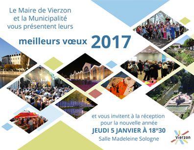 Vierzonitude vous dévoile la carte de voeux 2017 de la ville de Vierzon