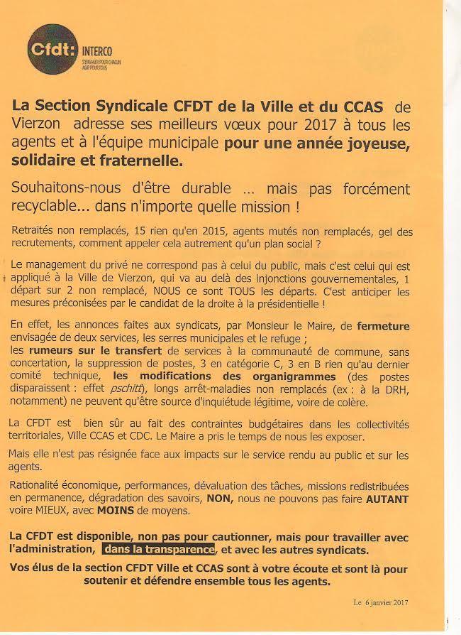 Fermeture des serres municipales : la CGT et la CFDT n'envoient pas des fleurs au maire de Vierzon