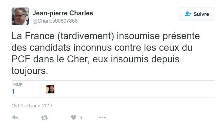 Les candidats de la France insoumise indignent les communistes