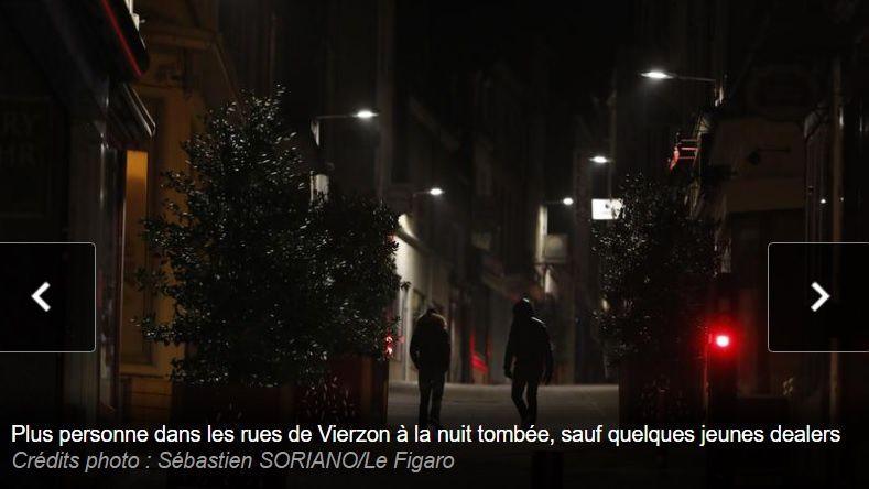 Dans le Figaro, Vierzon, 27.000 habitants, 237 cambriolages en 2016 : le ras-le-bol de la population