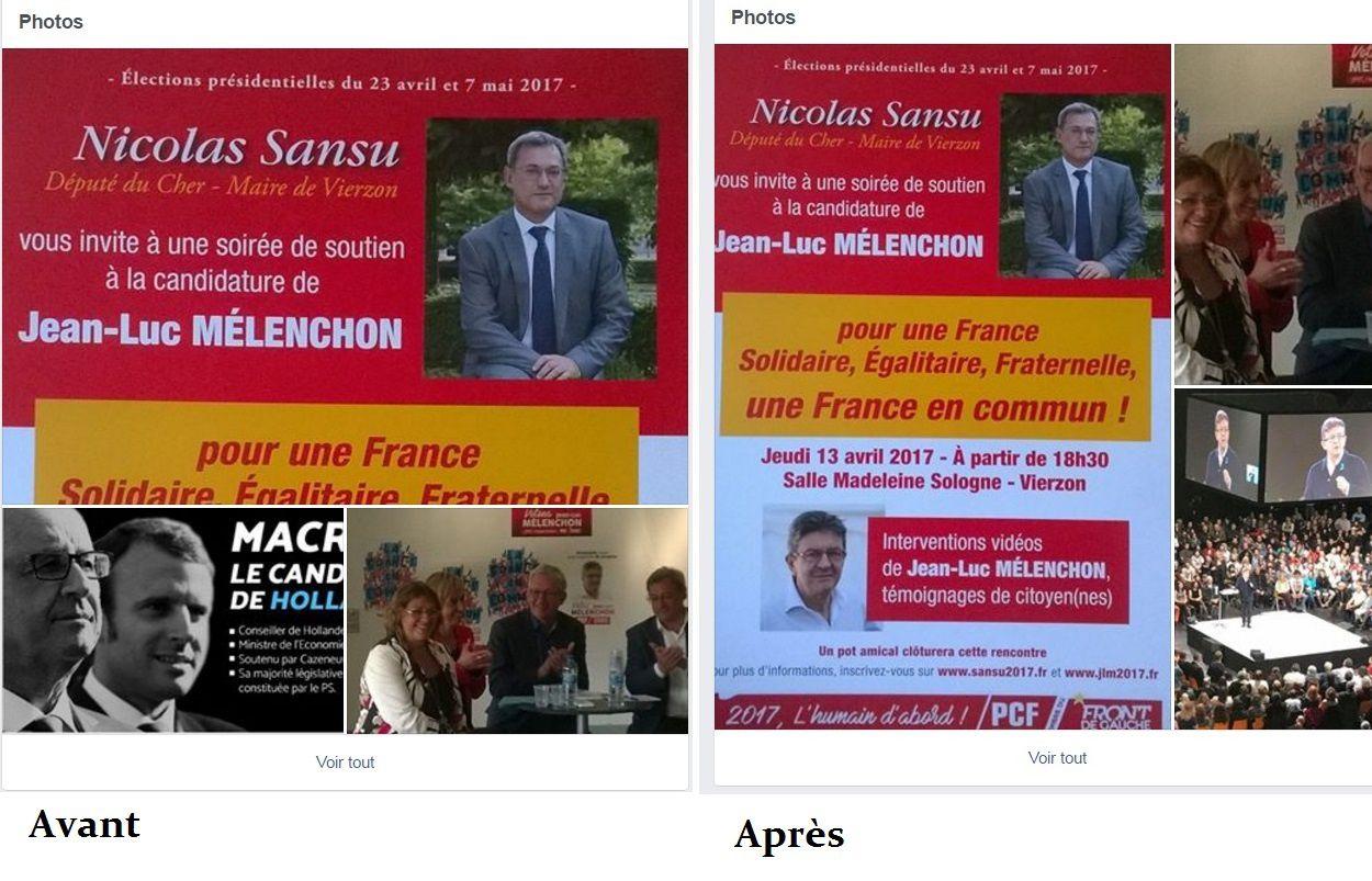 Le PCF de Vierzon retire de sa page Facebook la publication du Front national !