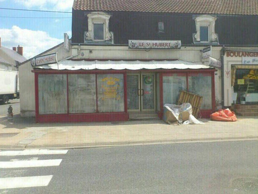 Le Saint-Hubert avant le Flam'bar.