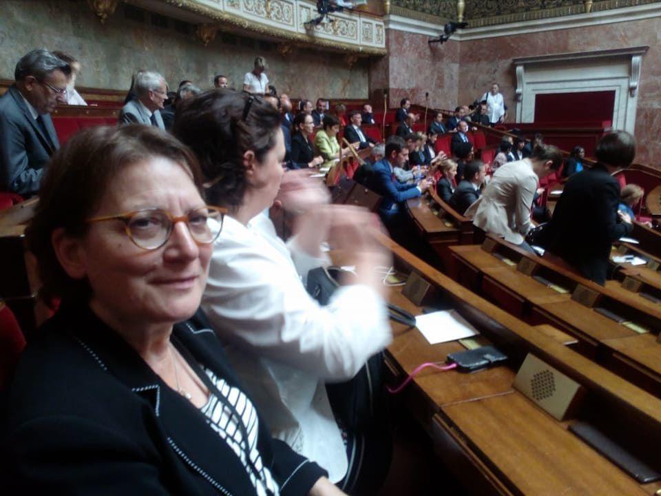 Assemblée nationale : la première séance de la députée de Vierzon, Nadia Essayan