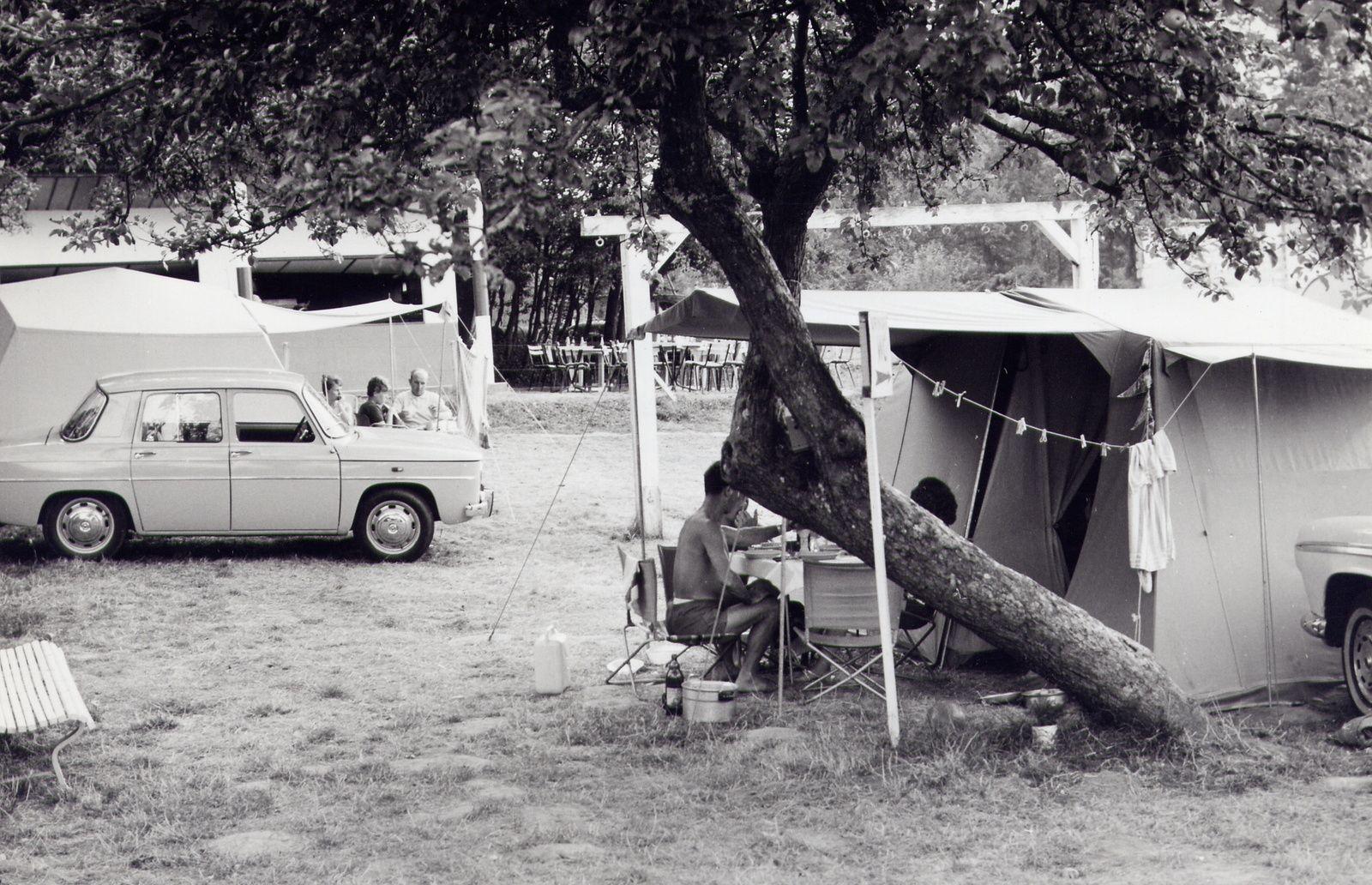 Le camping de Bellon dans l'oeil du rétroviseur