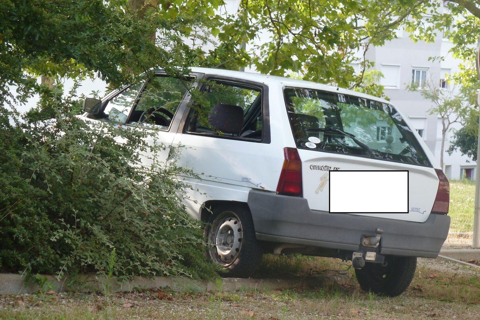 Et la voiture du Clos fut retirée !
