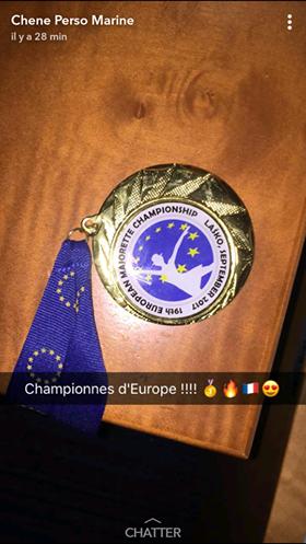 En Slovénie, les Medley'dies deviennent championnes d'Europe !