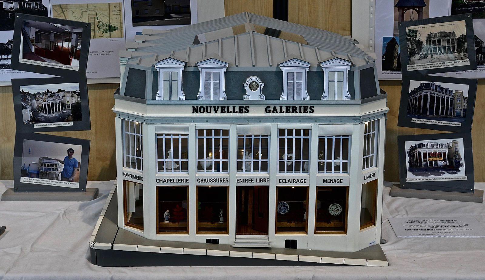 Les Nouvelles Galeries de retour... en maquettes !