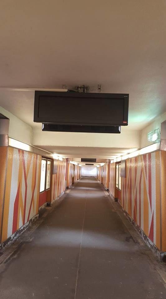 Le modernisme est enfin en gare de Vierzon ! Photos internaute.