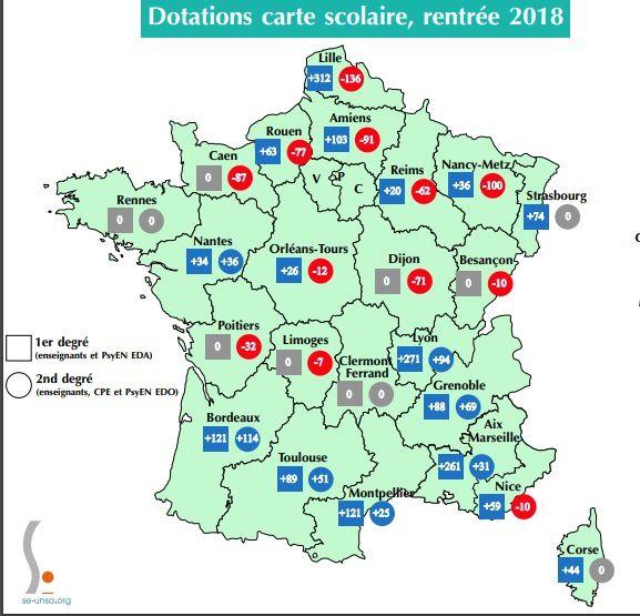 A en croire ce document sur la rentrée 2018, l'académie Orléans-Tours perdrait douze postes dans le second degré mais en gagnerait 26 dans le premier. En attente, bien sûr, des derniers ajustements au lendemain de la rentrée scolaire.