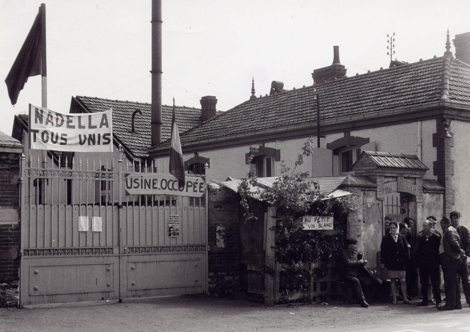 Les manifs de mai 68 dans les rues de Vierzon