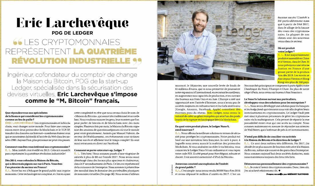 Le M Bitcoin Francais Possede Son Site De Production A Vierzon