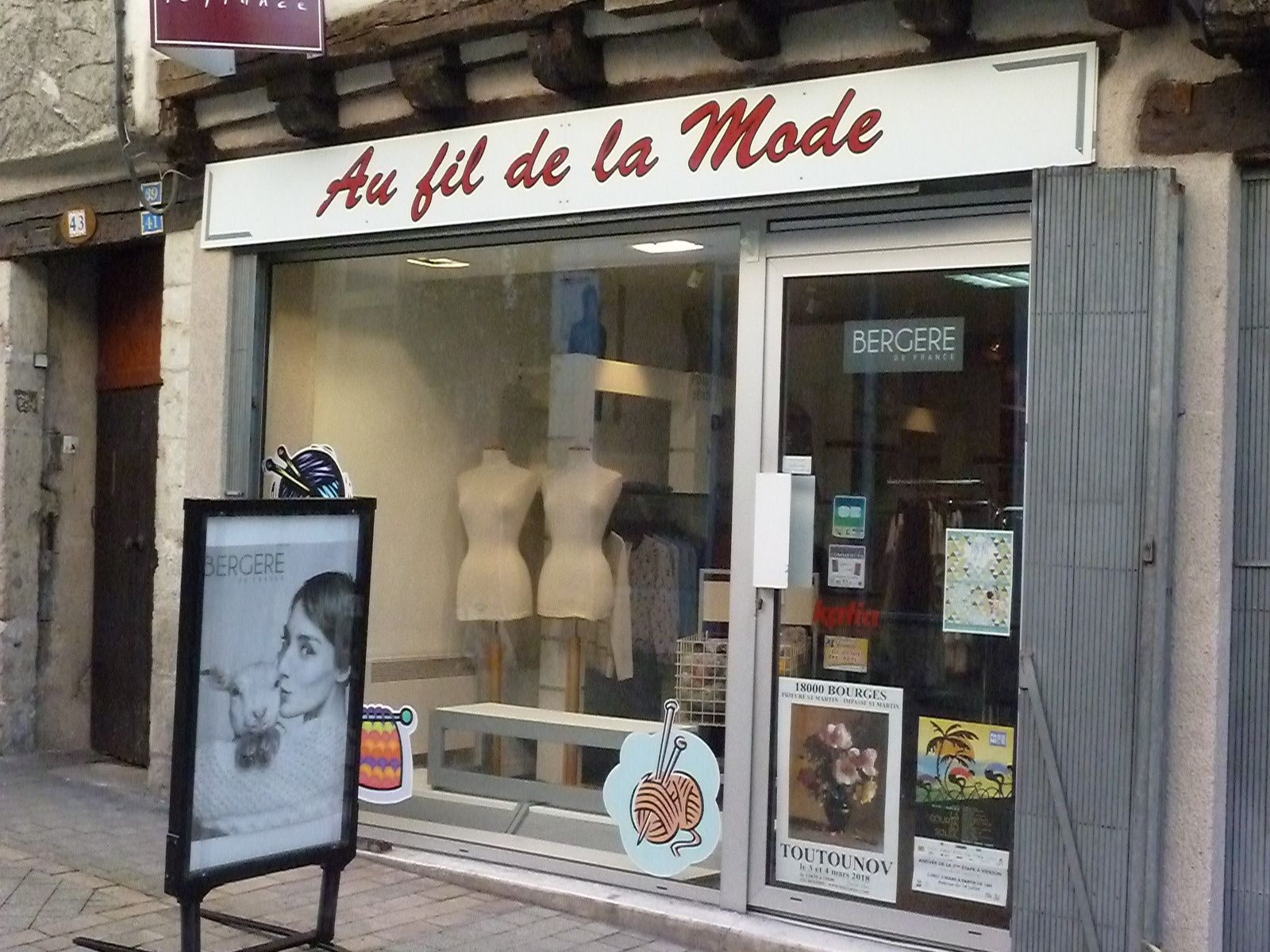 Rue Joffre, le magasin Au fil de la mode fermera fin juillet