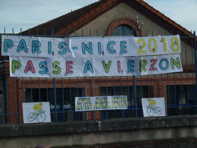 Et la deuxième étape du Paris-Nice arriva  à Vierzon !
