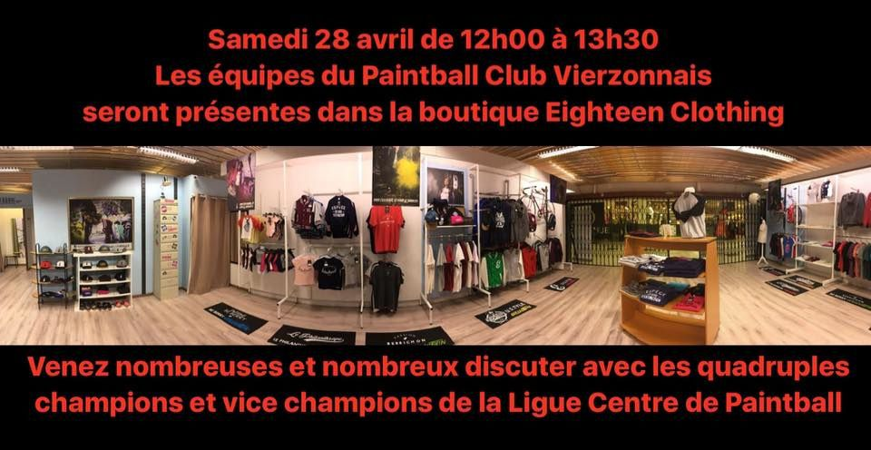 La boutique éphémère Eighteen Clothing ferme le 28 avril, courez-y !