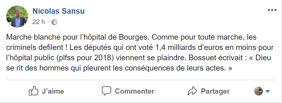 Vive polémique entre le maire de Vierzon Nicolas Sansu et le député François Cormier-Bouligeon