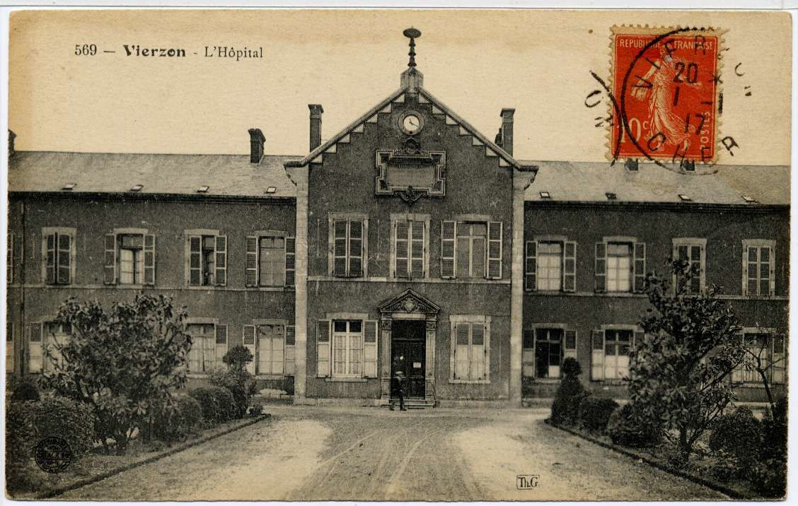 Hôpital :  d'un côté la Noue, de l'autre Mérigot