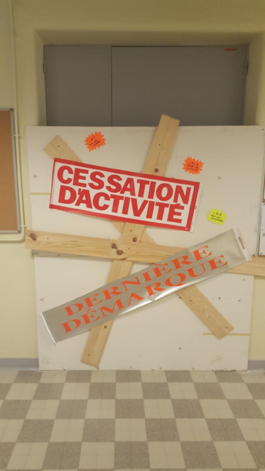 Hôpital : le bureau du directeur condamné