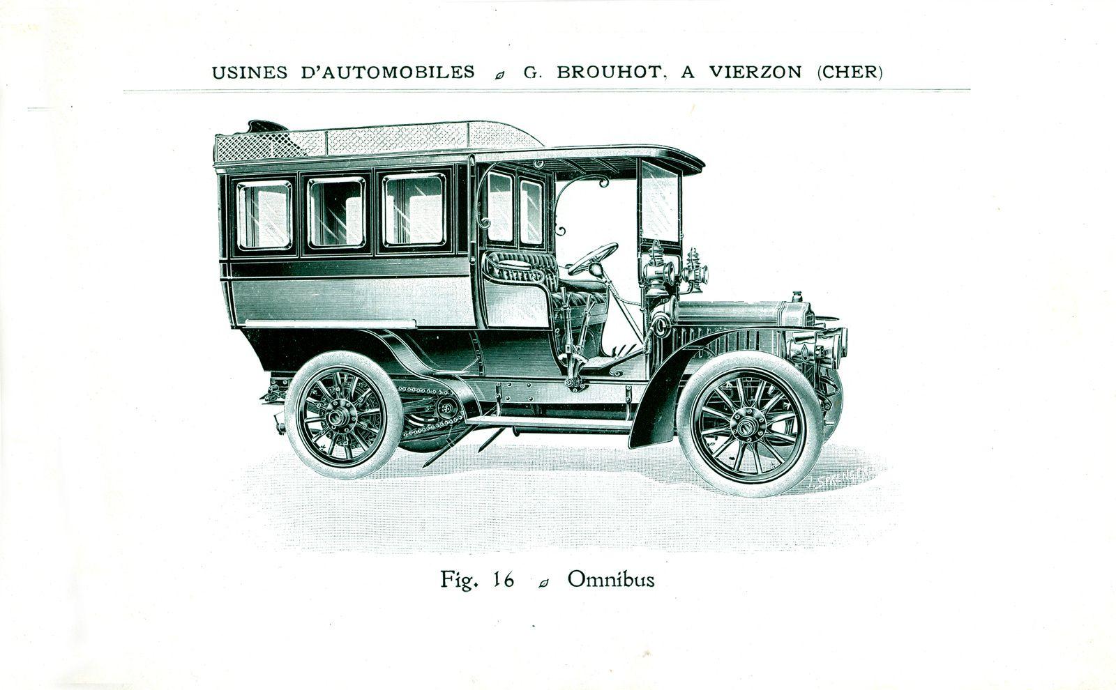 La formidable épopée des voitures vierzonnaises Brouhot