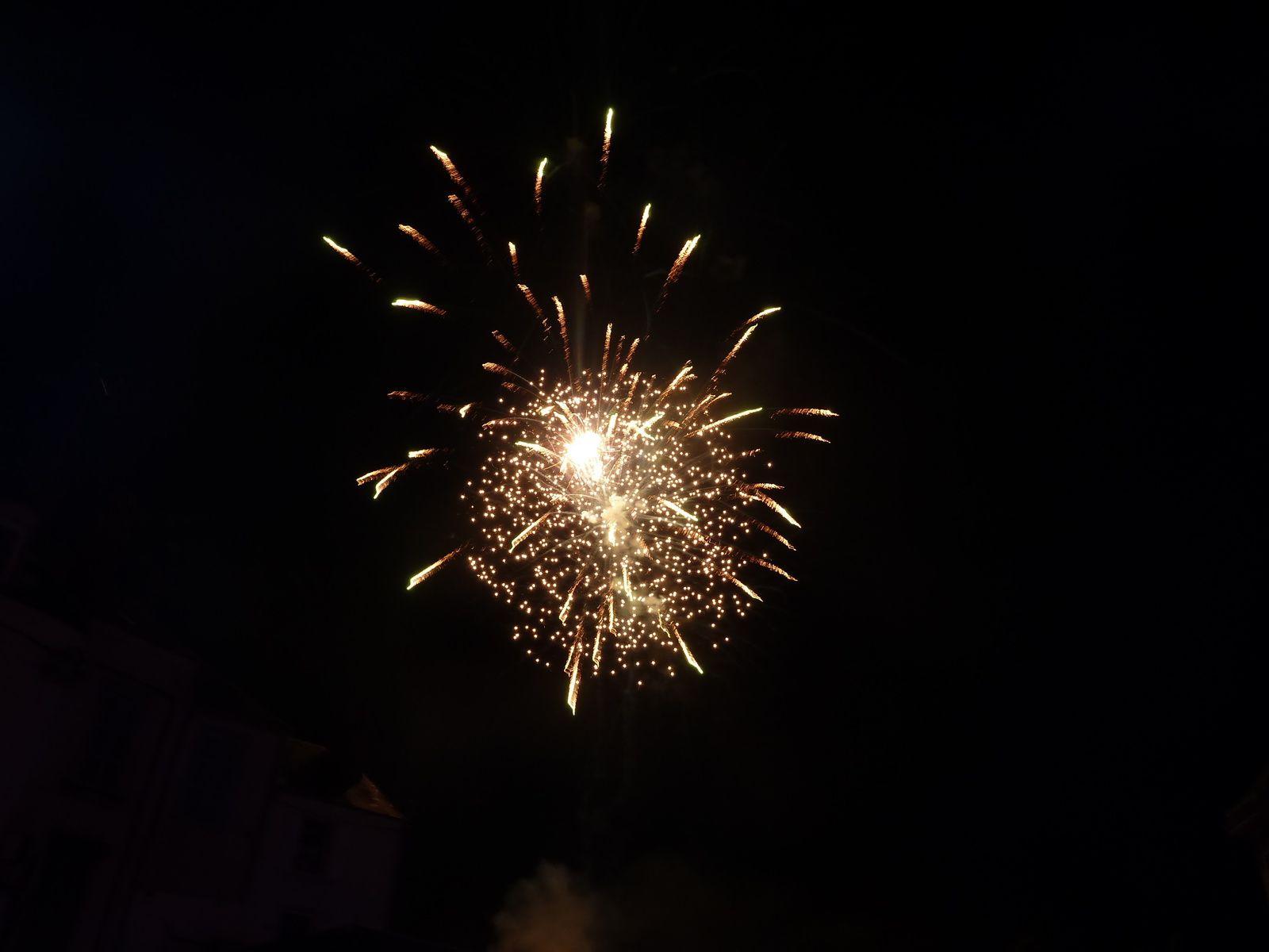Fête foraine et feu d'artifice à Vierzon