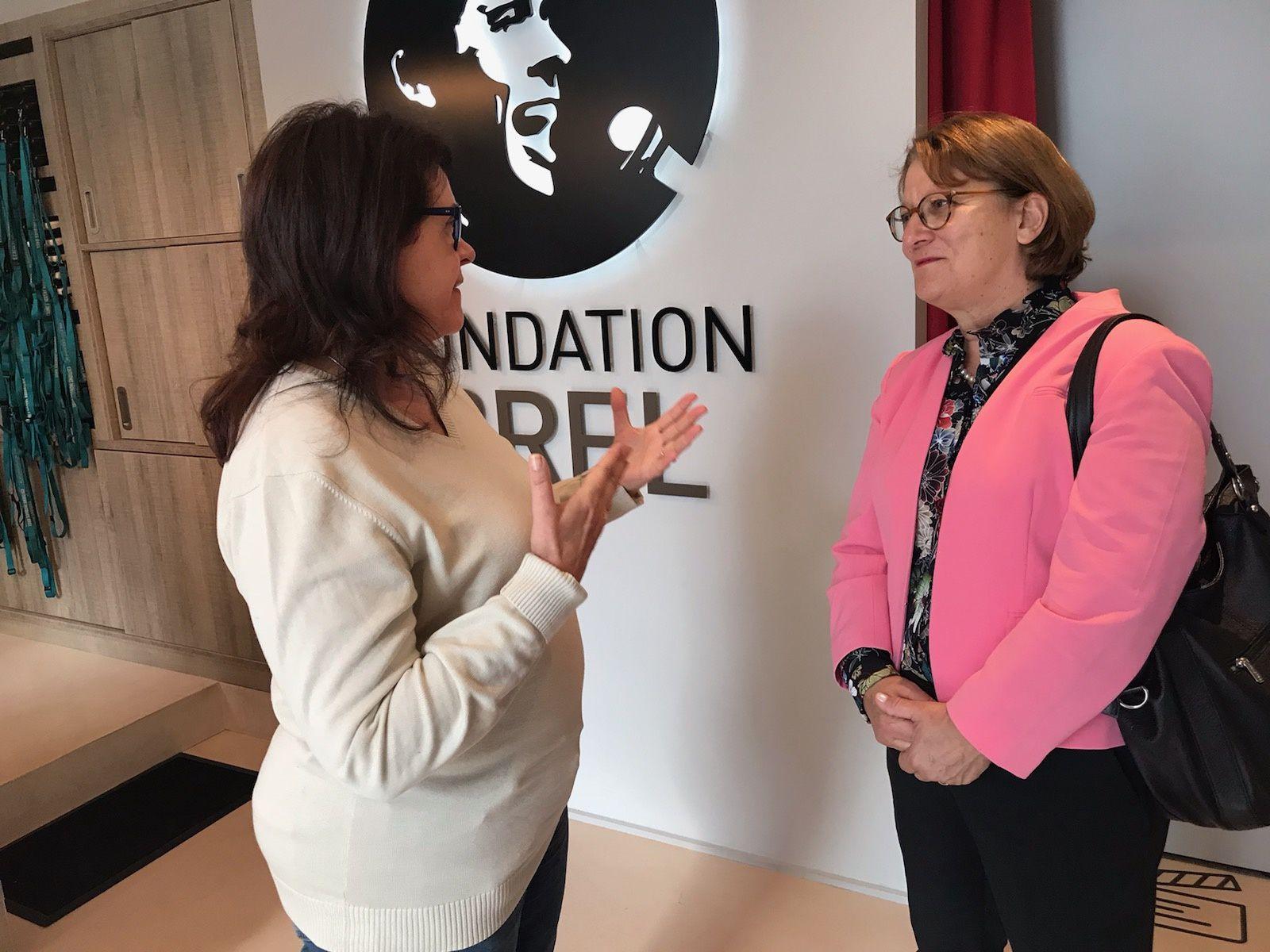 Nadia Essayan a rendu hommage à Brel à Bruxelles, en présence de France Brel