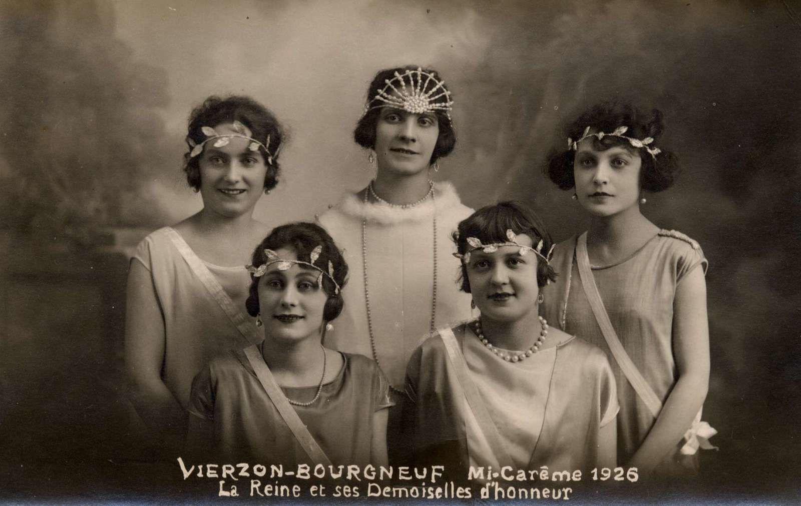 Les reines, fées et miss de Vierzon à travers le temps