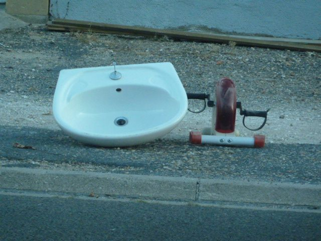 Un lavabo dimanche à Vierzon