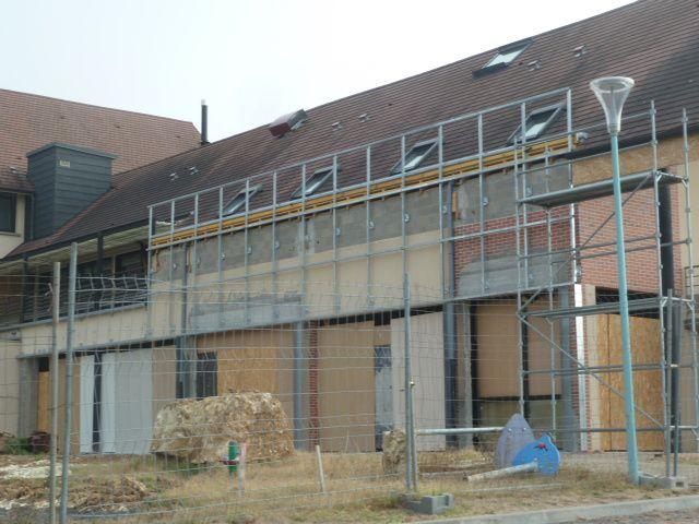 Quarante chambres d'hôtel en construction dans l'ancienne maison de pays