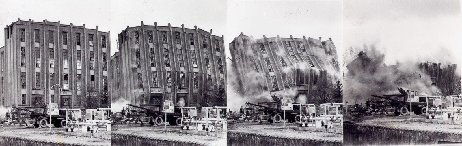 Document : la destruction de l'ancienne usine à gaz de Vierzon