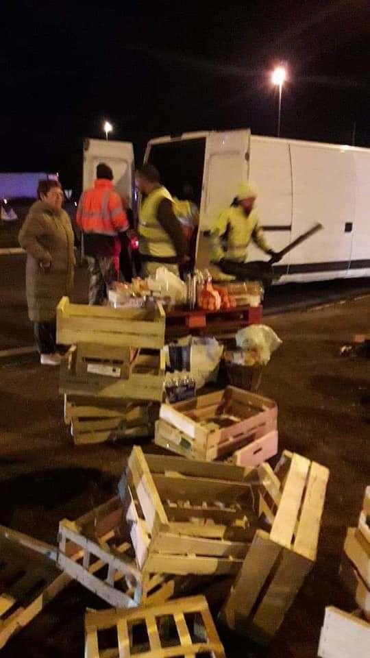 Gilets jaunes : ça bloque aux Forges et route de Paris