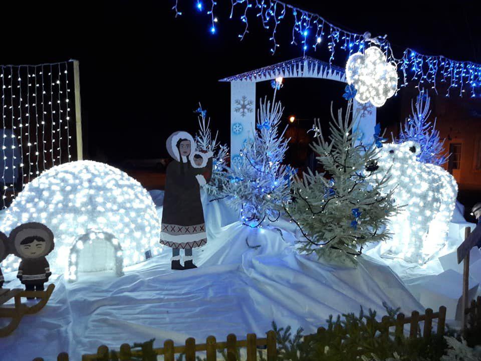 La petite commune de Chéry  a fêté Noël !