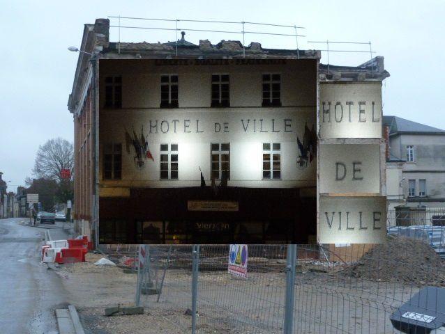 Solution (s) pour la façade de l'ancienne Poste...