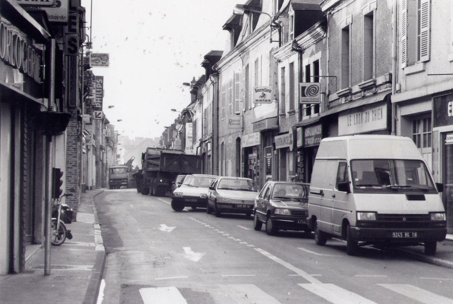 La rue des Ponts, exemple-type des conséquences du Forum république....