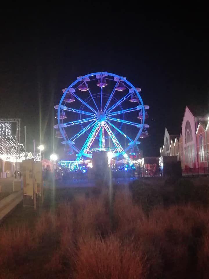 Vierzon fête Noël fait la grande roue