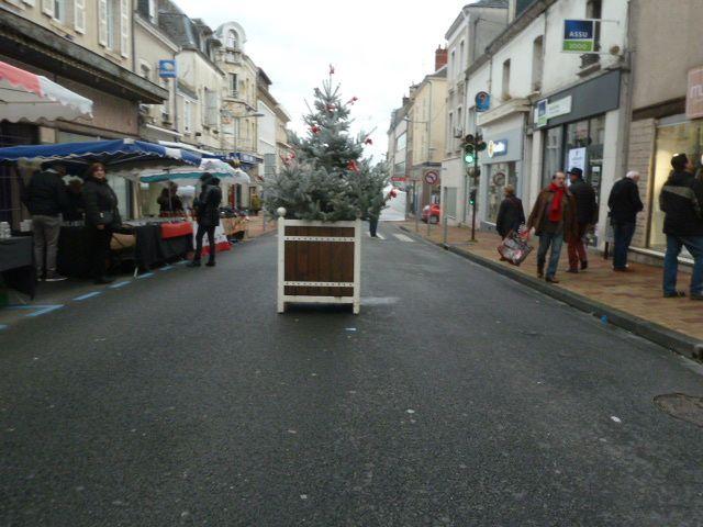 Noël dans le centre ville de Vierzon