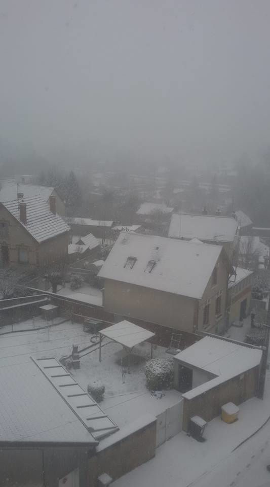 Vierzon sous la neige !