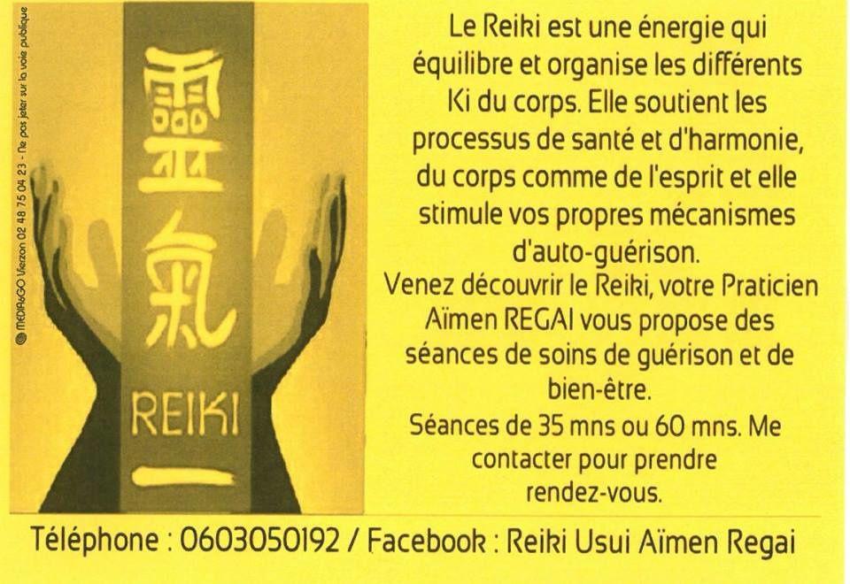 Aïmen Regai pratique le Reiki à Vierzon il nous explique ses bienfaits