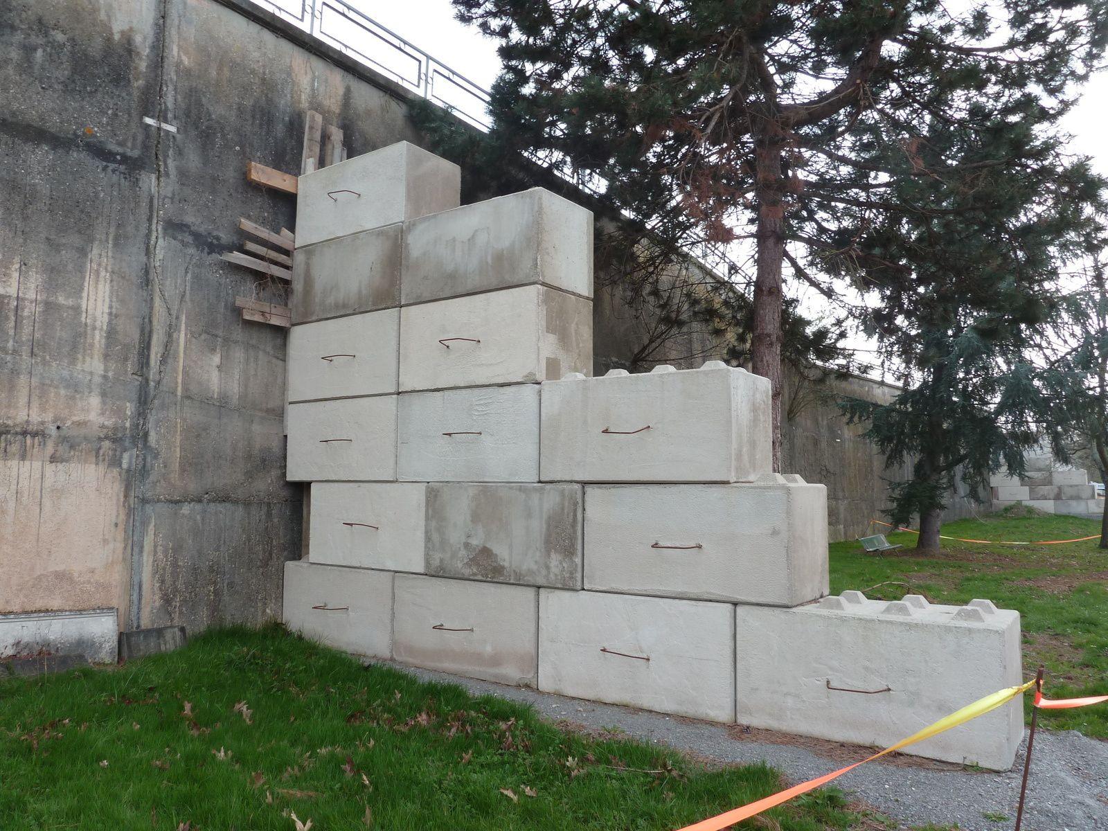 Le mur de soutènement du stade Robert Barran a été refait