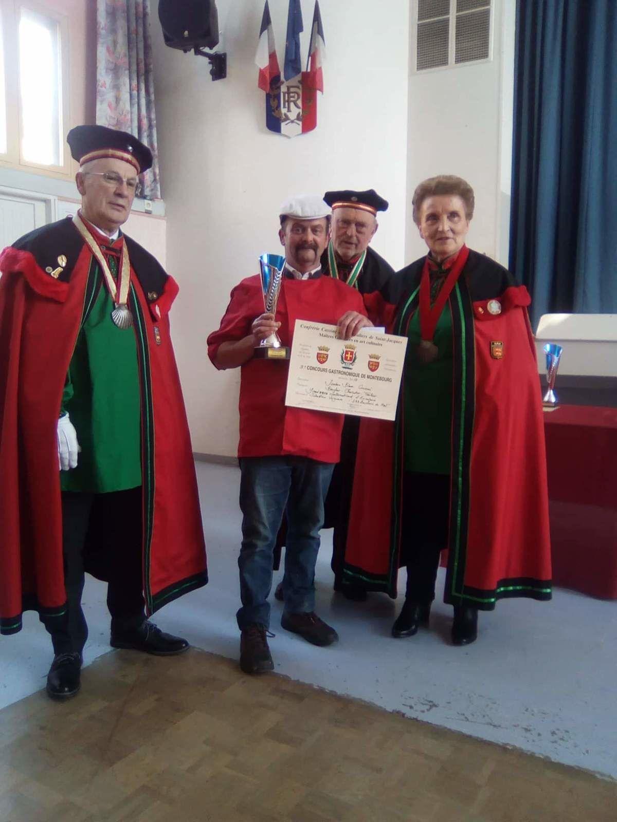 Sébastien Verguère, le boucher du Mail, a été cherché son prix, dans la Manche, celui du jambon blanc !