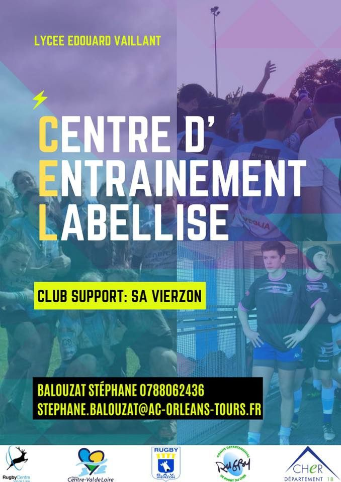 Un centre d'entraînement labellisé de rugby au lycée Edouard-Vaillant