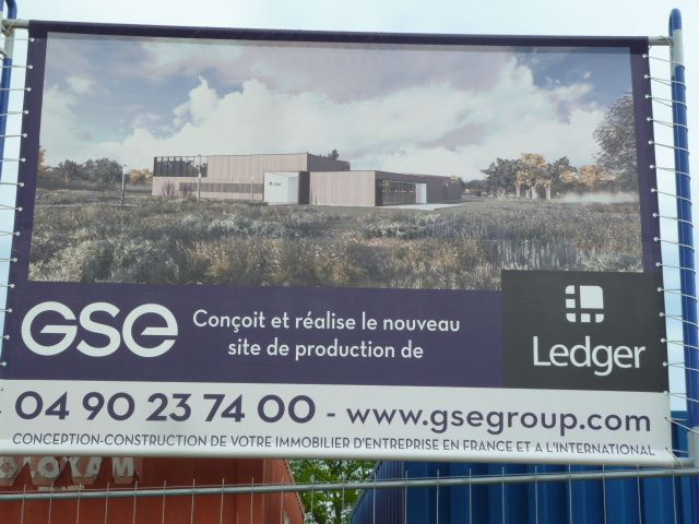 La nouvelle usine de Ledger baptisé Ledgerplex en impose