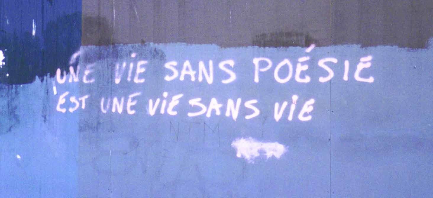 Un peu de poésie, bordel